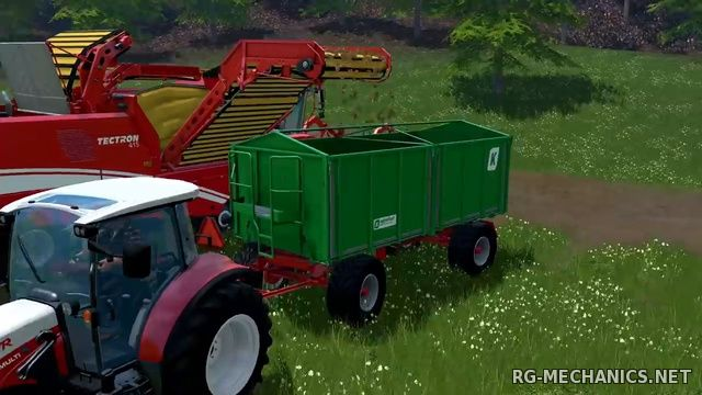 Скриншот к игре Farming Simulator 15: Gold Edition [v 1.4.2 + DLC's] (2014) PC | RePack от R.G. Механики