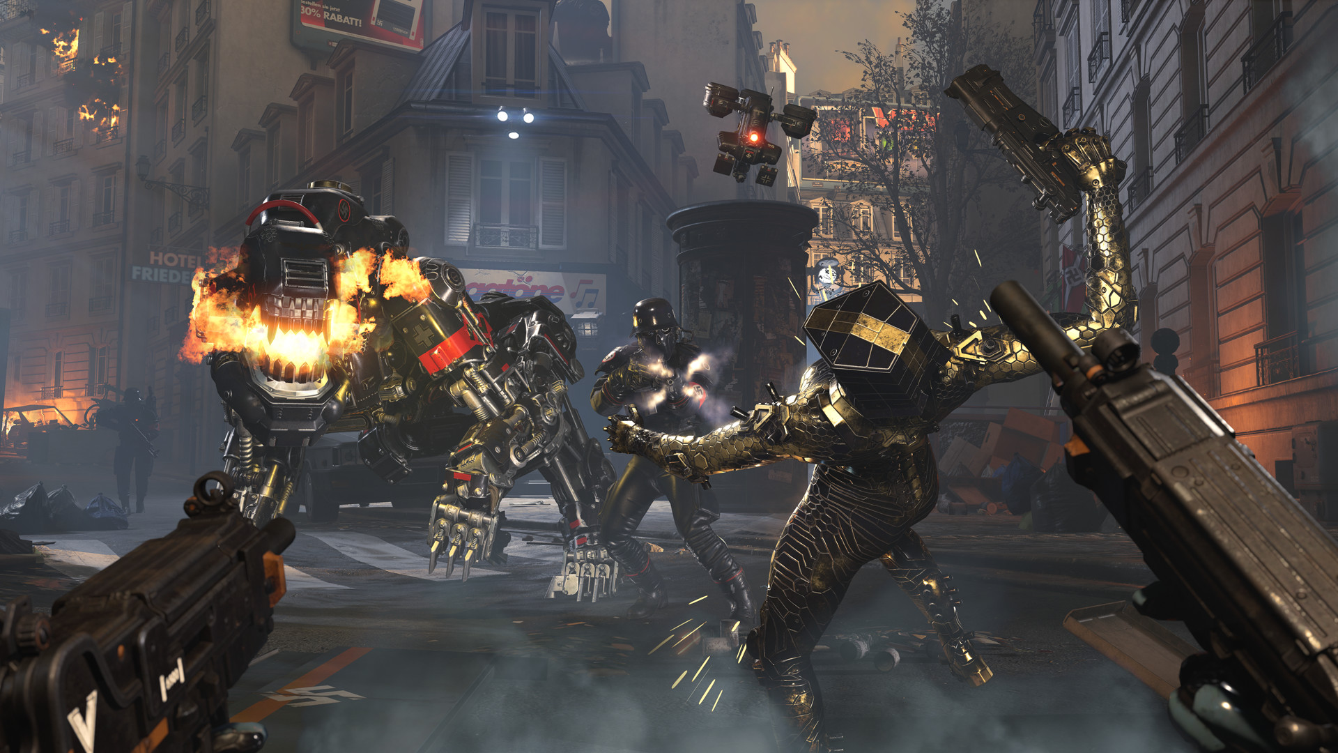 Скриншот к игре Wolfenstein: Youngblood - Deluxe Edition (2019)