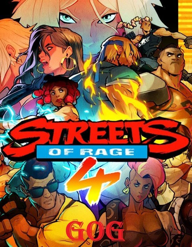 Streets of Rage 4 (05g-r11096) [GOG] (2020)