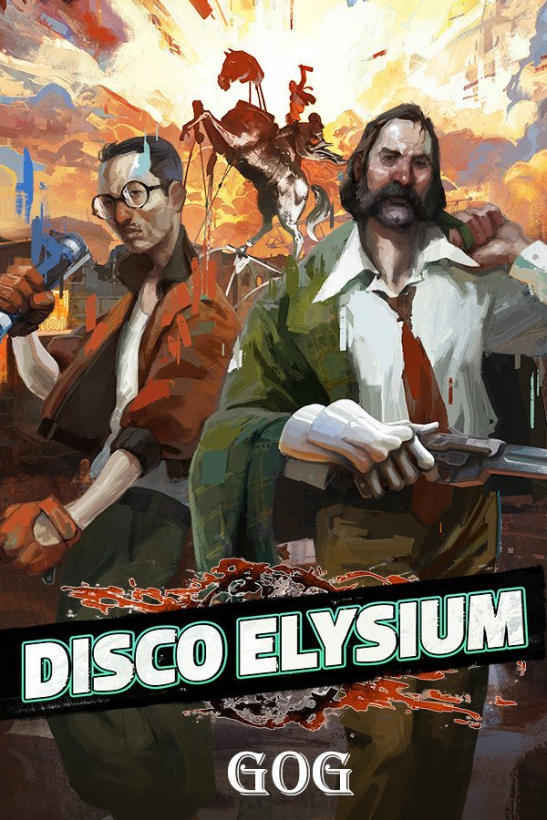 Обложка к игре Disco Elysium — The Final Cut v.c09c4438 [GOG] (2019) Лицензия
