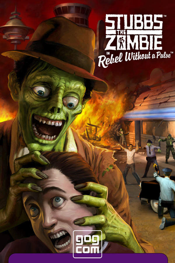 Stubbs the Zombie in Rebel Without a Pulse (переиздание) [GOG] (2005-2021) Лицензия