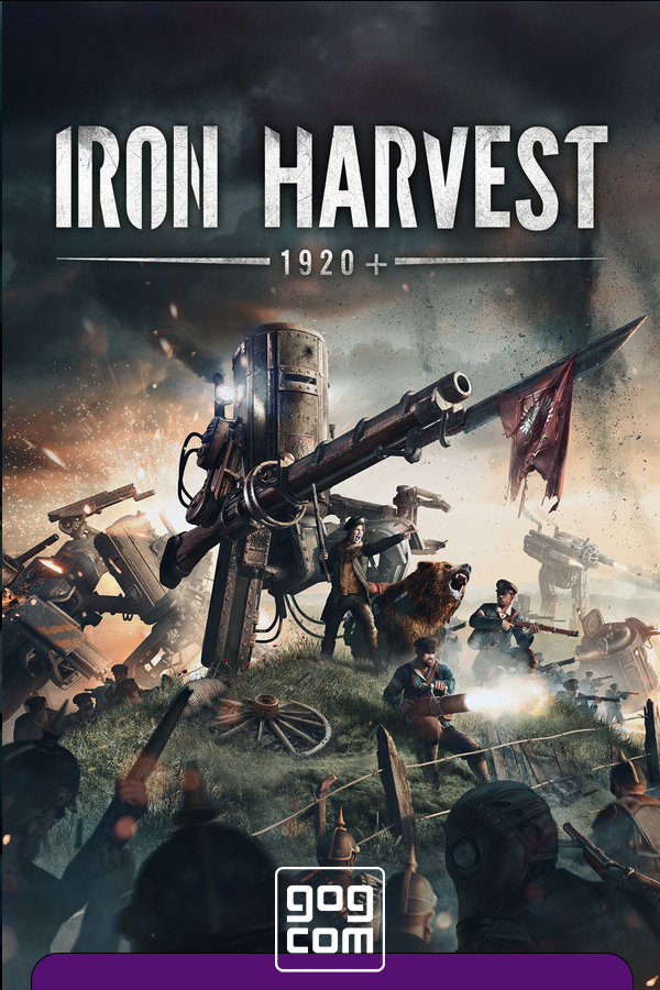 Iron Harvest - Deluxe Edition v.1.1.5.2145 [GOG] (2020) Лицензия